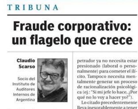 Fraude corporativo: un flagelo que crece