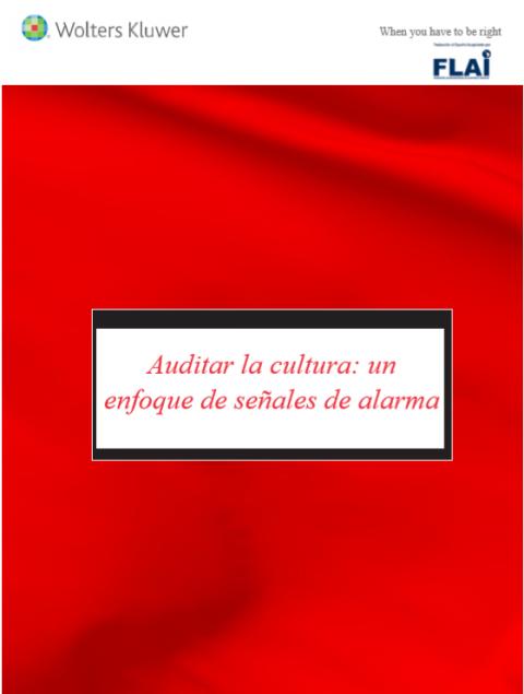 Auditar la cultura: un enfoque de señales de alarma