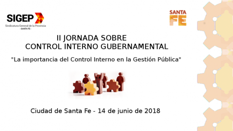 II Jornada sobre Control Interno Gubernamental