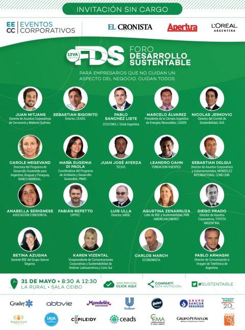 12do Foro de Desarrollo Sustentable