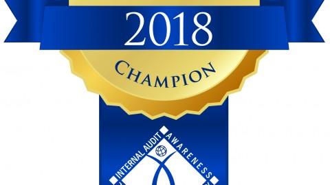 2018 Building Awareness Champion.
