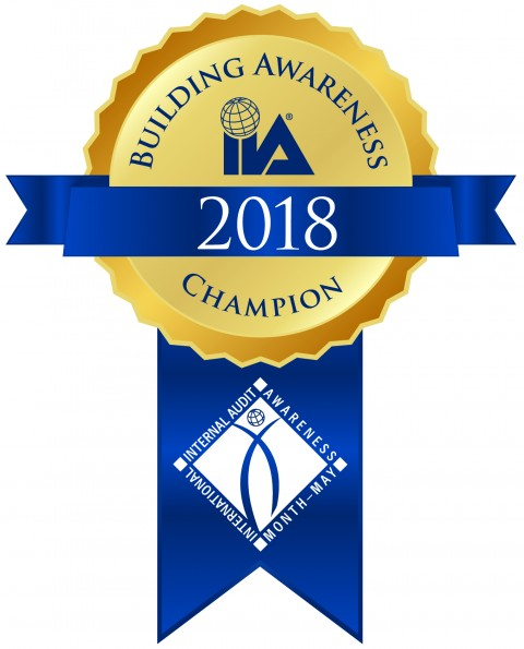 2018 Building Awareness Champion.