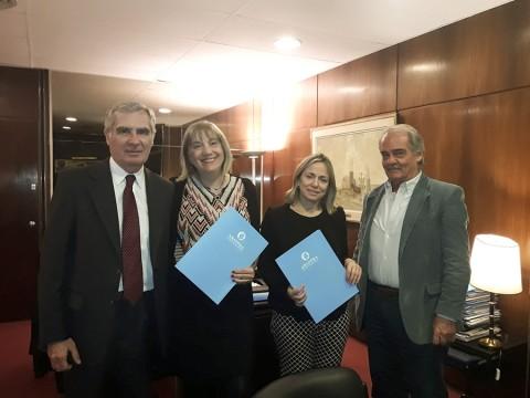 Firma de Convenio de Cooperación, Asistencia Técnica y Complementación entre ABAPPRA y IAIA.
